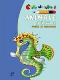 Prut Animale acvatice. Poezii si ghicitori – carte de colorat
