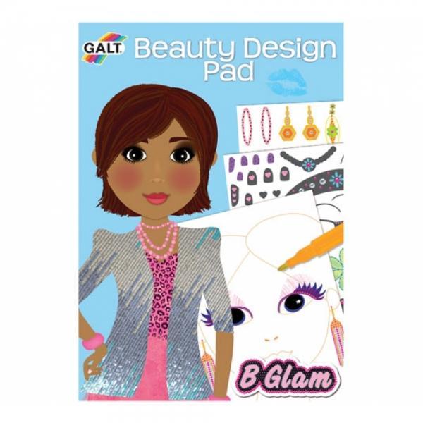 GALT Carticica de colorat pt fetite Beauty De