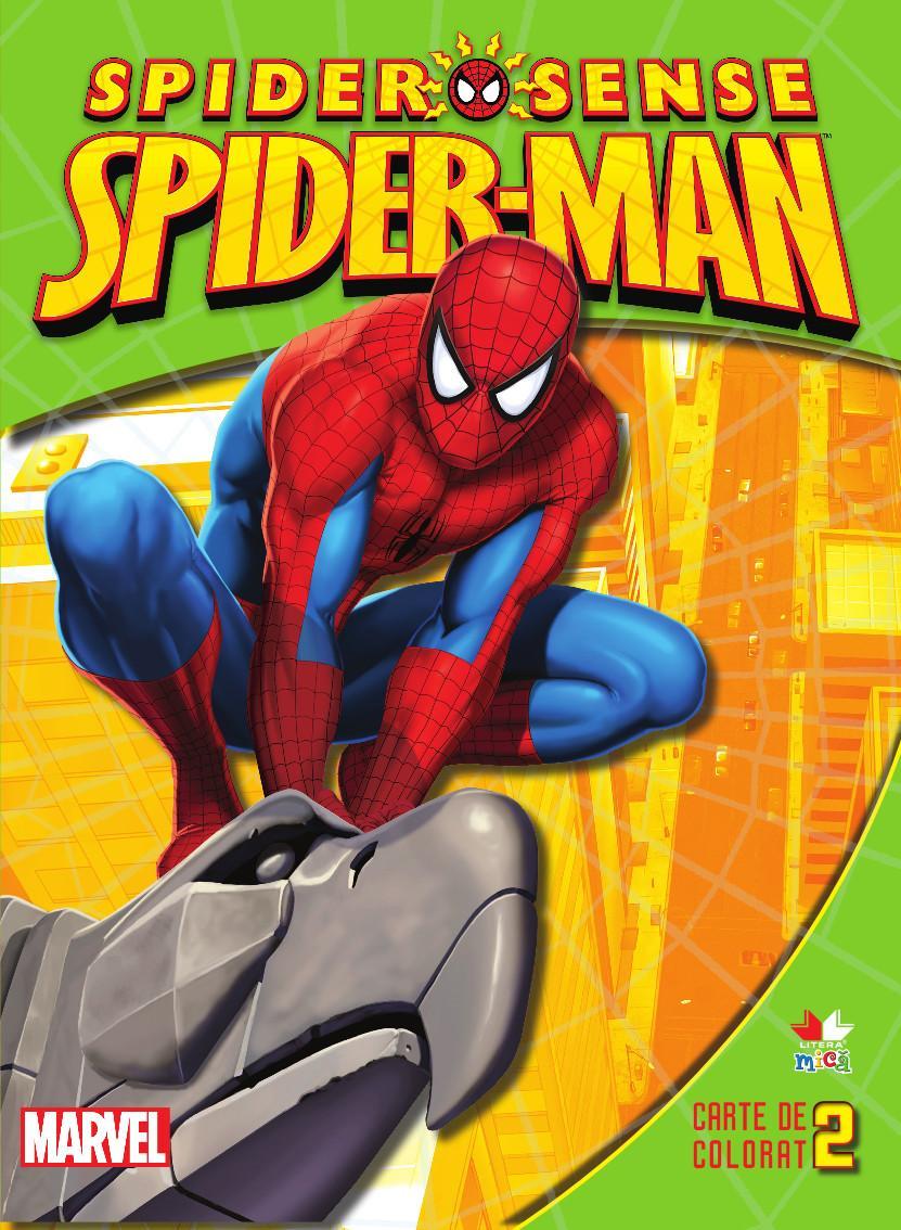 Litera Spider-Man. Carte de colorat 2