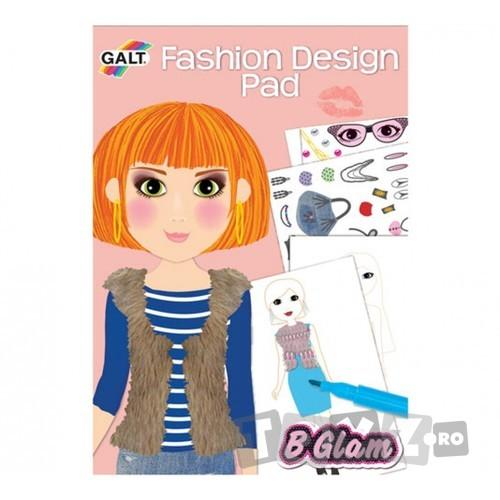 Galt Girl Club – Carticica de colorat pt.fetite – Fashion Design Pad