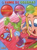 Aquila `93 O lume de colorat – Dinozauri. Pasari. Insecte Vol. 2