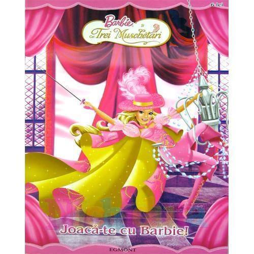 Egmont Carte de Colorat – Barbie si Cei Trei Muschetari