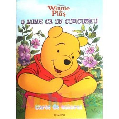 Egmont Carte de Colorat Winnie de Plus – O Lume ca un Curcubeu