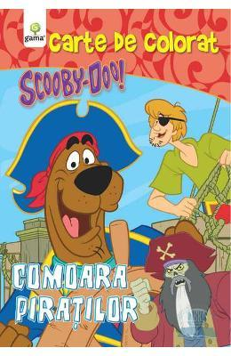 Scooby-Doo! Comoara piratilor – Carte de colorat