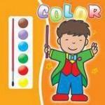 Teora Carte de colorat 2- contine acuarele si pensula