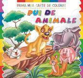 Crist Prima mea carte de colorat. Pui de animale