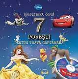 Litera Noapte buna copii! 7 povesti pentru toata saptamana (carte+CD)