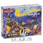 Melissa&Doug Puzzle de podea Viata subacvatica (48 piese)