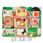 Melissa & Doug Puzzle magnetic Ascunde si descopera (9 piese)