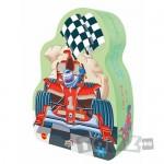 Galt Foil Puzzle: Masini de curse (30 piese)