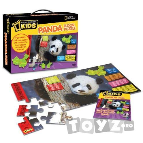 NationalGeographic Puzzle de podea Panda
