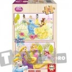 Educa Puzzle Printesele Disney 2 x 16