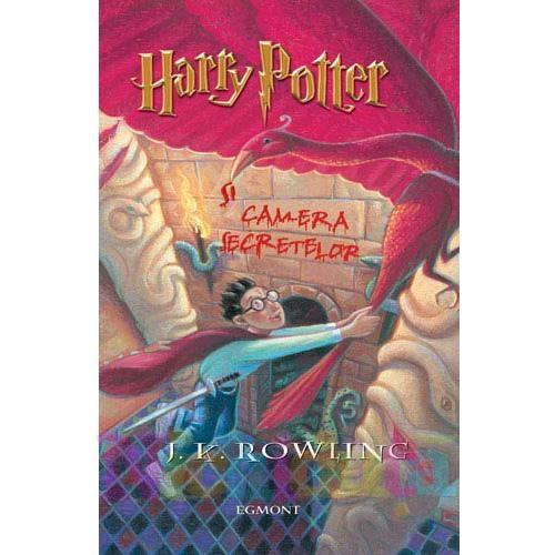 Egmont Carte Harry Potter si Camera Secretelor