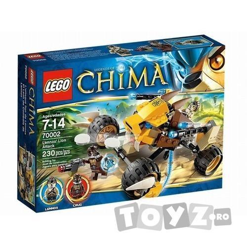 LEGO CHIMA ATACUL LEULUI LENNOX (70002)