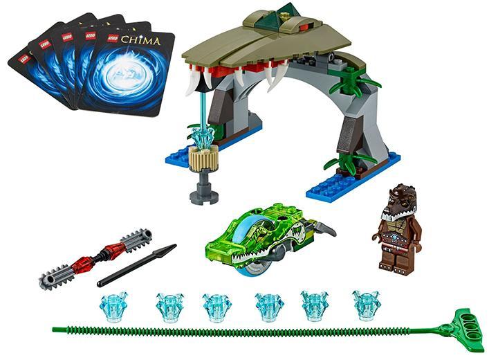 LEGO Apucatura crocodilului (70112)