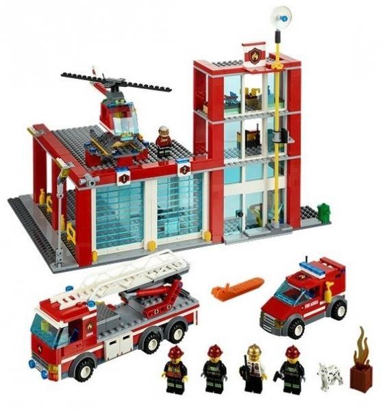 LEGO Statia de pompieri din seria LEGO City