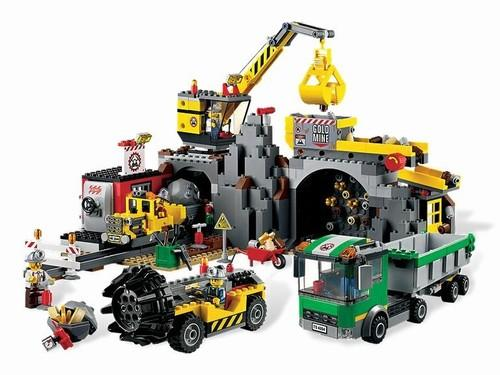 LEGO Mina din seria LEGO CITY