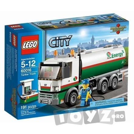 LEGO CITY CAMION CISTERNA – 60016