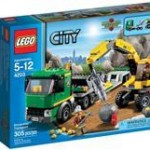 Lego Lego City Transport De Excavator (4203)
