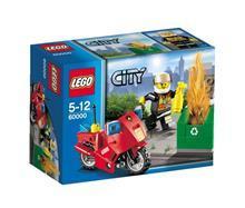 Lego Lego City Motocicleta De Pompieri -60000