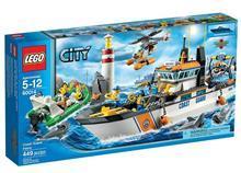 Lego Lego City Patrula Garzii De Coasta – 60014