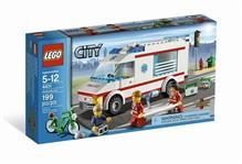 Lego Ambulanta Din Seria Lego City
