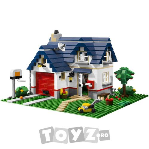 LEGO Casa 3 in 1 din seria LEGO Creator