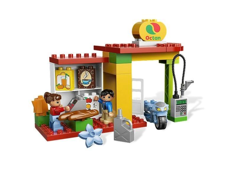 LEGO Statia de benzina din seria LEGO Duplo