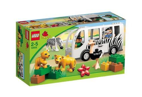 LEGO DUPLO VILLE AUTOBUZ ZOO (10502)