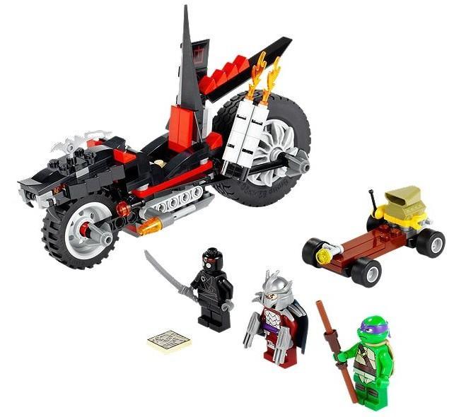 LEGO Motocicleta dragon a lui Shredder