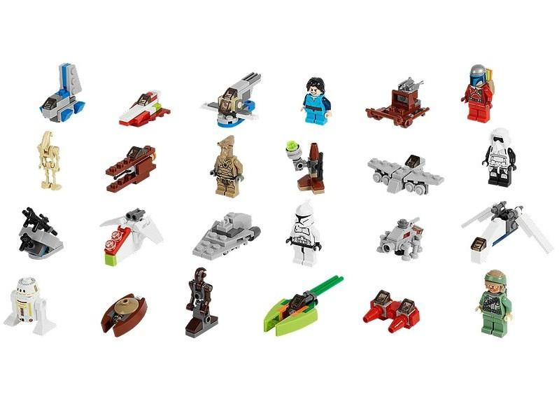 LEGO Calendarul de advent LEGO Star Wars 2013