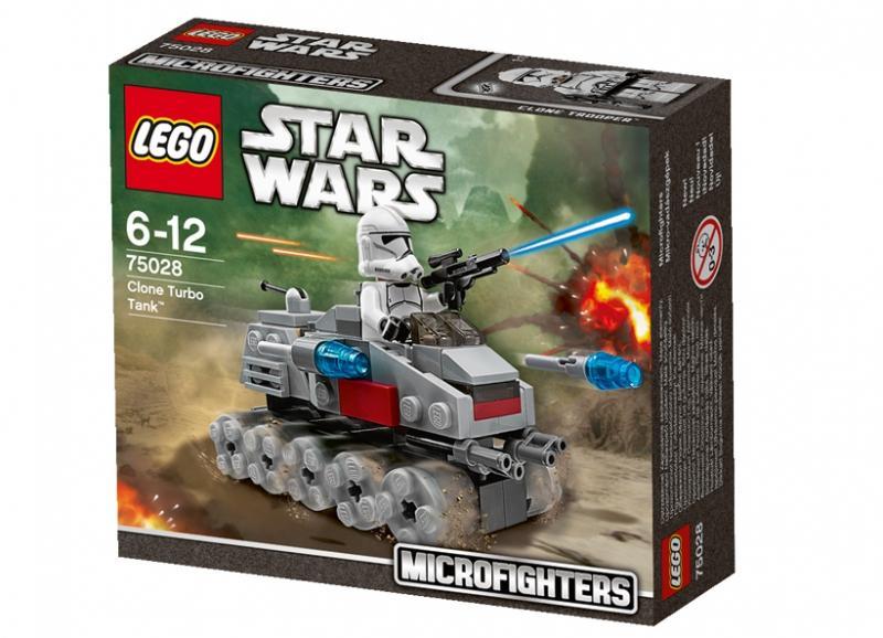 LEGO Clone Turbo Tank (75028)