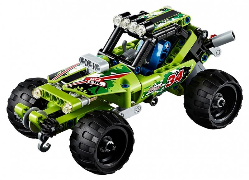 LEGO Masina de curse de desert (42027)