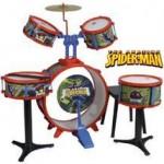 Reig Musicales Set Tobe Spiderman Baterie