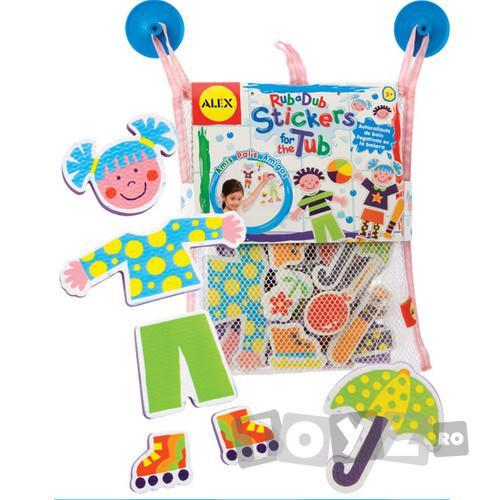 AlexToys Rub a Dub: Stickere pentru baie Prieteni la joaca
