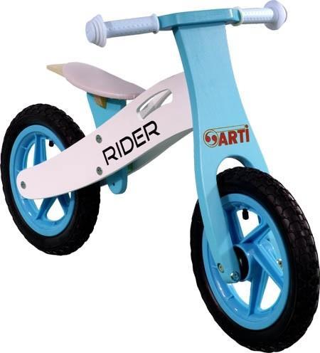 Generic Bicicleta Fara Pedale Din Lemn ARTI Albastru