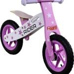 Generic Bicicleta Fara Pedale Din Lemn ARTI Star Roz Deschis