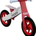 Generic Bicicleta Fara Pedale Din Lemn ARTI Rosu