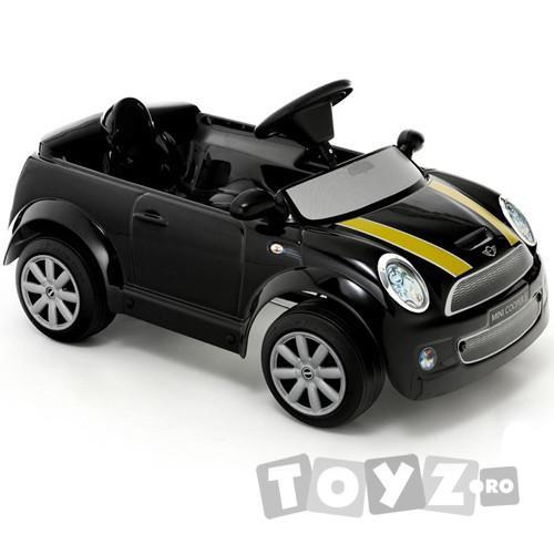 ToysToys Masinuta cu pedale Mini Cooper S neagra