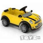 ToysToys Masinuta cu pedale Mini Cooper S galbena