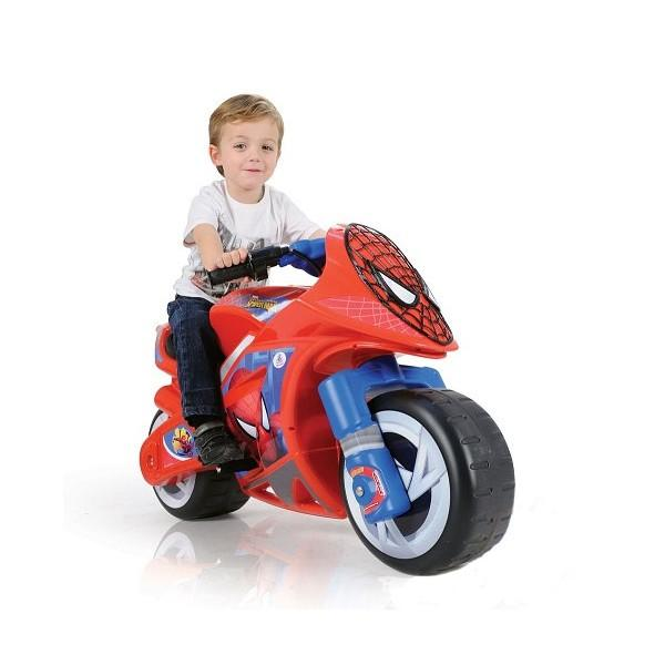 Injusa Injusa – Motocicleta Wind Spiderman Sense 6V