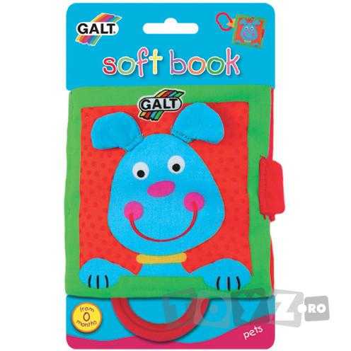 Galt Soft Book: Carticica moale Pets