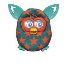 Furby Boom Jucarie Furby Boom Orange Stars A6807