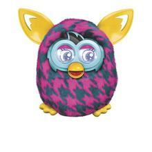 Furby Boom Jucarie Furby Boom Purple Houndstooth A6808