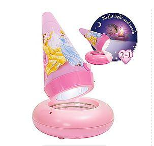 Worlds Apart World Apart – Veioza 2 in 1 Go Glow Disney Princess