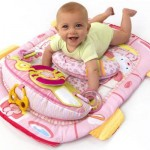 Bright Starts Bright Starts – Pretty In Pink Tummy Cruiser Prop & Play Mat