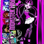BTS Penar Echipat Monster High Girls