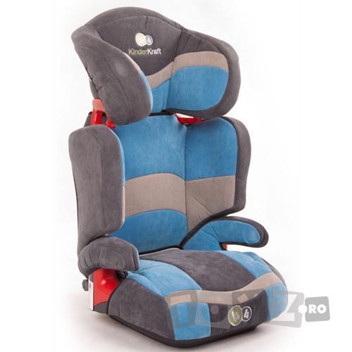 KinderKraft Scaun auto Junior Blue (15-36 kg)