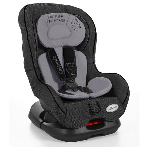Generic Scaun Auto Copii MONI Babysafe Negru