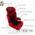 BabyGo Scaun auto Sport Red